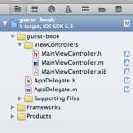 iPhoneアプリ開発  芳名帳アプリ作成(1) -最初の一歩-
